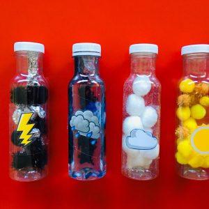botellas sensoriales