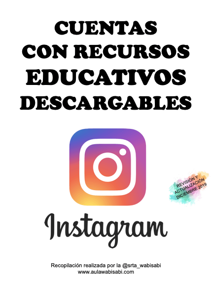 recursos educativos en instagram