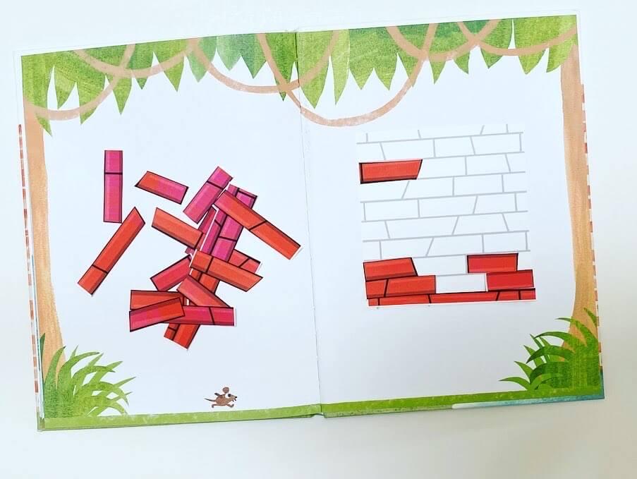 puzzle de un muro