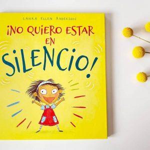 no quiero estar en silencio libro